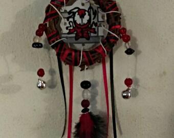 3 inch grapevine wreath carnage dream catcher