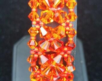 Fire opal Fantasia Bracelet