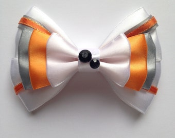 BB8 Droid Star Wars Inspired Hair Bow