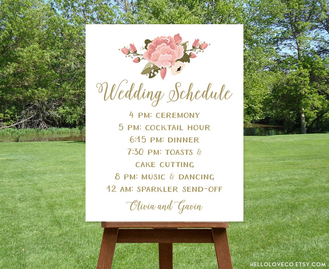 Printable Wedding Schedule Sign Custom Wedding Program Sign. Brother Signs Of Stroke. Please Signs Of Stroke. Deli Signs. Rales Arterial Signs. Cardboard Signs. Highway Sign Signs. Final Stage Signs. T Shirt Signs