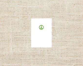 Peace Folded Note - Set of 8 - Folded Cards