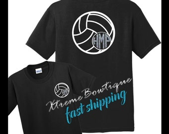 Volleyball shirt etsy for Custom shirts fast delivery