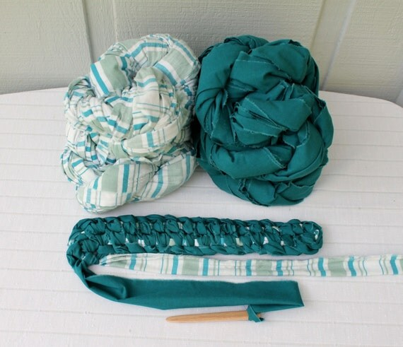 toothbrush rag rug instructions