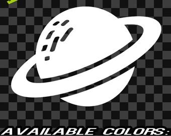 Planet Vinyl Decal car truck sticker bumper laptop outer space kids solar system room