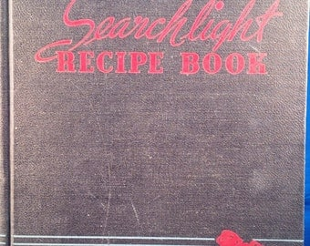 Searchlight Recipe Book by the Household Magazine of Topeka Kansas