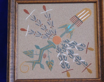 Native American Sand Art