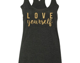 Love yourself Justin Bieber Ladies T-shirt.