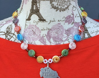 ON SALE - 716 Buffalo Necklace