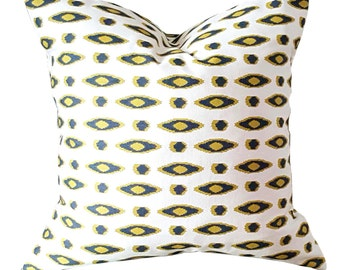 Oval Print Pillow