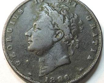 British George IV Farthing 1826