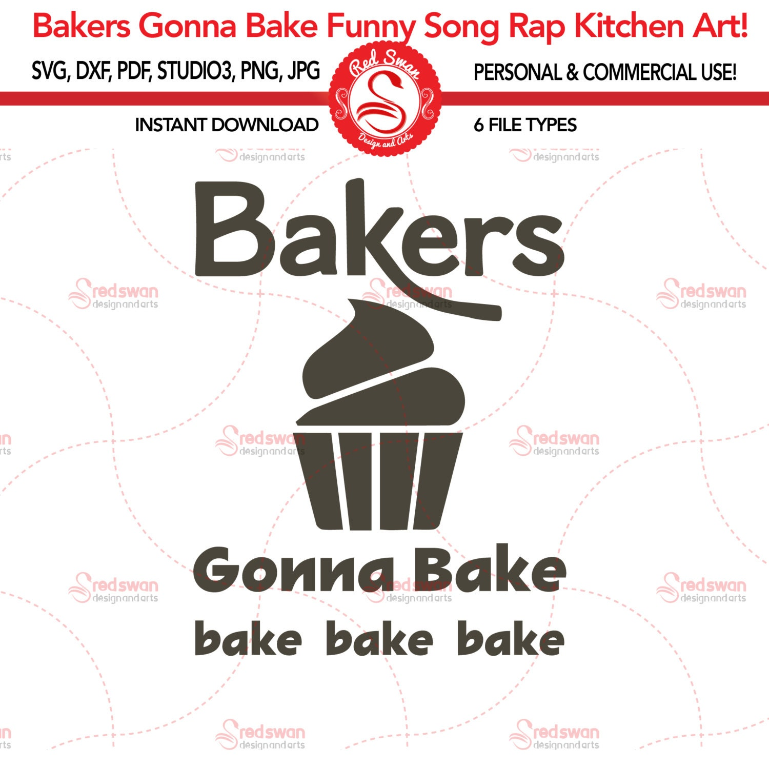Funny Kitchen Pictures: Bakers Gonna Bake Kitchen SVG, Funny Kitchen Art , Kitchen