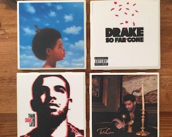 Drake Album Cover Coasters
