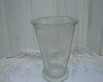 Vintage French Measuring Glass