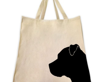 Gifts for dog lovers, gifts for dog owners, Pitbull gift, Pit, dog gifts, dog tote, pet gifts, dog, canvas tote bag, tote bag, market tote