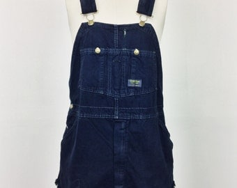 Frayed Vintage Short-alls