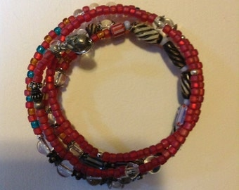 Hand-made Fashion Seed Bead Bracelet