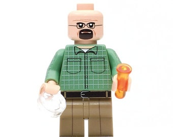 Walter Whitebrick - Custom Minifigure