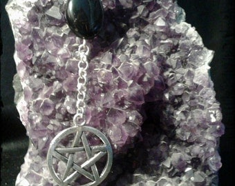 Pentacle necklace and Black Onyx.