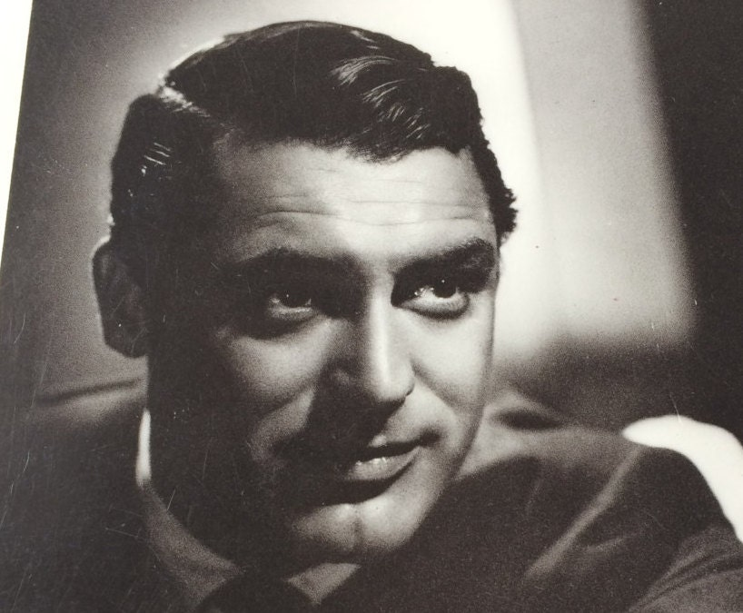 Cary grant cary grant photo hollywood postcard movie poster for Cary grant first movie