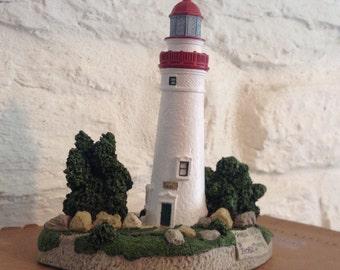 Lighthouse Ornament/ Marblehead Ohio 413/ Harbour Lights 1995.