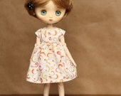 Sunshine and Citrus Swirl Dress for JerryBerry or Dal Doll