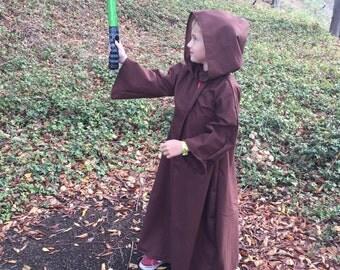 Star Wars Luke Skywalker Jedi  Knight-inspired hooded cloak, robe, cape outfit, costume