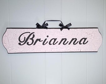 Custom Nursery Sign