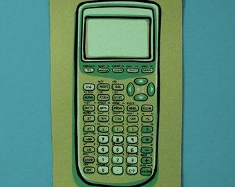 Calculator Screen Print