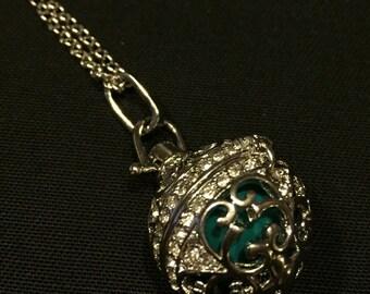 Pregnancy bola, pregnant Bola, gift, angel care - dark blue