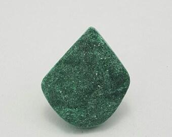Malachite druzy