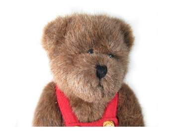 Teddy bear - Boyds Bear -  collectible bear - limited edition bears - brown Bear - plush bear -Graham Cocobeary Bear  # 81