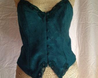Vintage Green Victorias Secret top