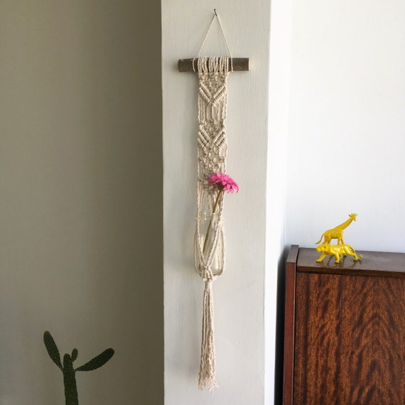 Macrame Wall Hanging Plant Hanger Hanging Planter Wall Decor