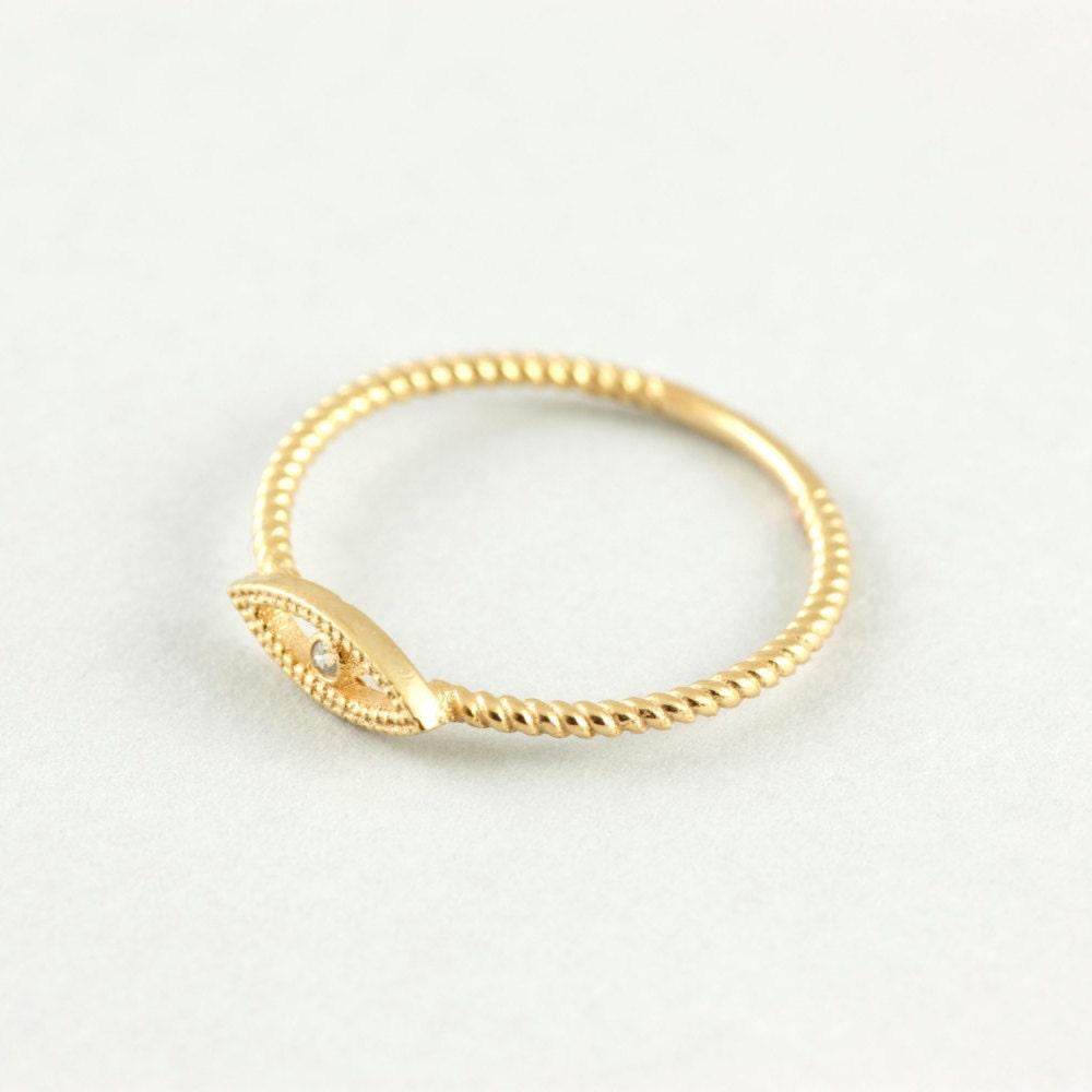 evil eye gold ring evil eye ring for by