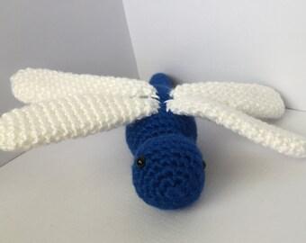 Crochet Pattern - Dragonfly