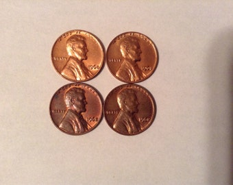 1968 Lincoln Memorial Pennies for Coin Collecting Old US Coins FREE SHIPPING