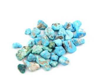 Natural Old Stock Nevada Turquoise Rough T4