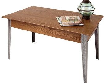 Metal & Wood Shaker Coffee Table