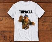 TUPACCA shirt . wookie shirt . funny meme shirts . for star wars fans