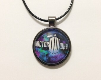 Doctor Who Galaxy Necklace