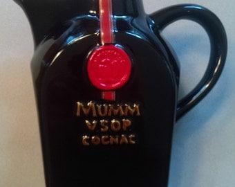 Mumm VSOP Cognac Pitcher