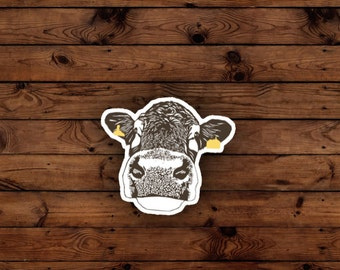 Lady Cow Sticker Printable