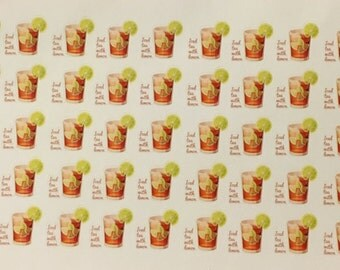 Iced Tea with Lemon  Planner Stickers