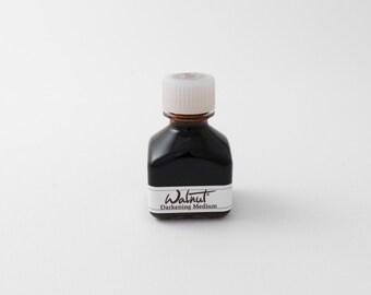 Tom Norton darkening medium for walnut ink