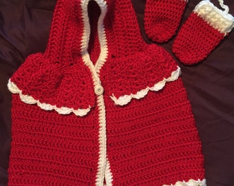Cape and Mitten Set