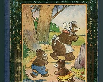Buster Bear's Twins by Thornton W Burgess Illustrated by Harrison Cady 1923 First Edition children's juvenile vintage