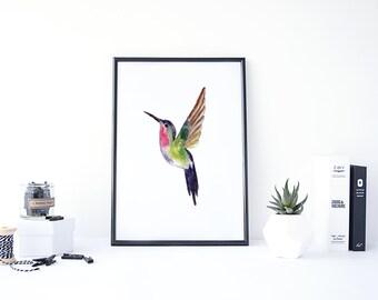 Painting Bird, Watercolor Bird Prints, Bird Painting, Bird Watercolor, Watercolor Print, Bird Printable, Paint Art, Painting Printable