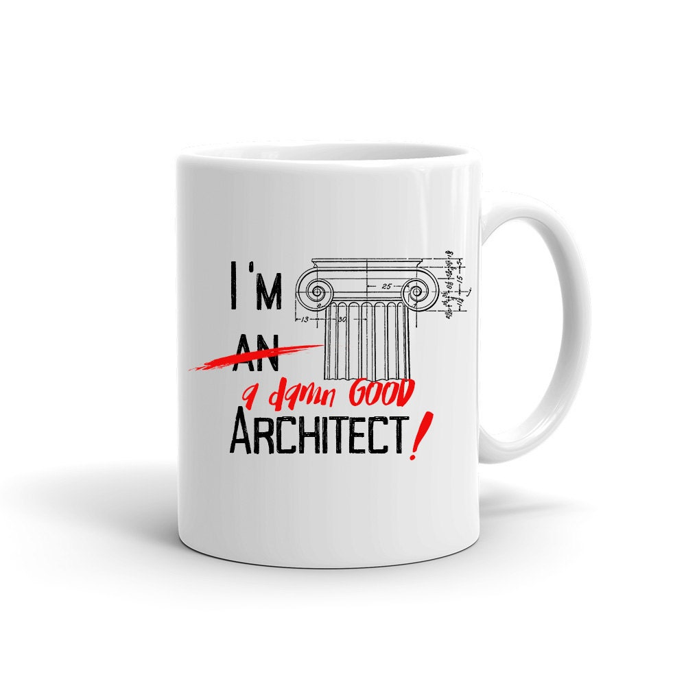 Architectural Gifts funny coffee mug gift for architect architect coffee mug