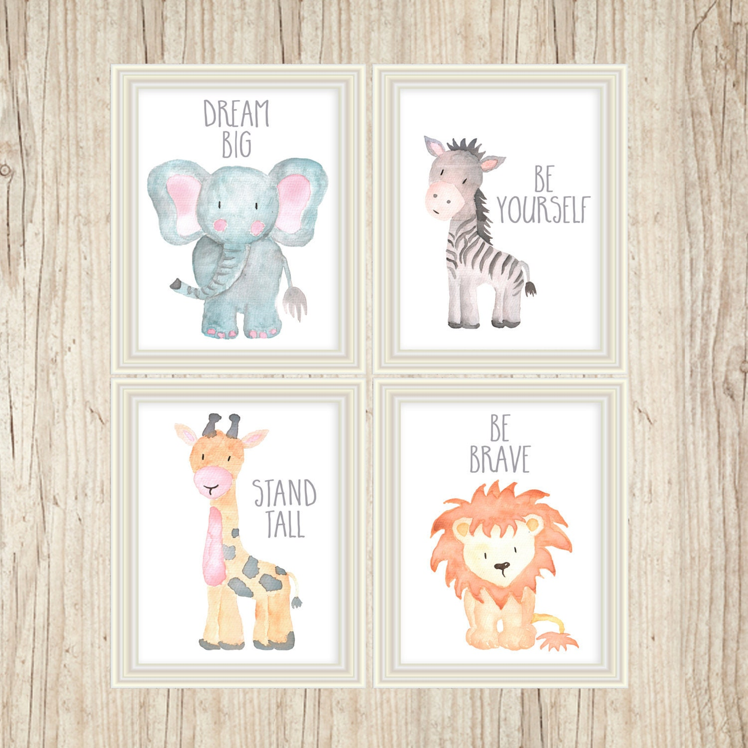 Safari nursery decor safari nursery wall art nursery print for Nursery wall art