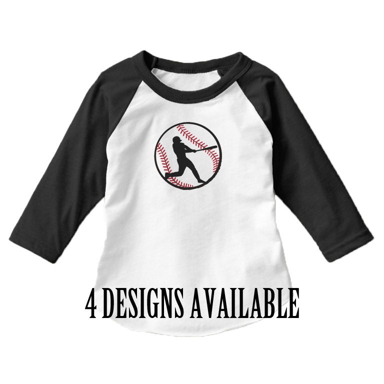 Family baseball printed t shirts 4 designs baseball shirt Designer baseball shirts